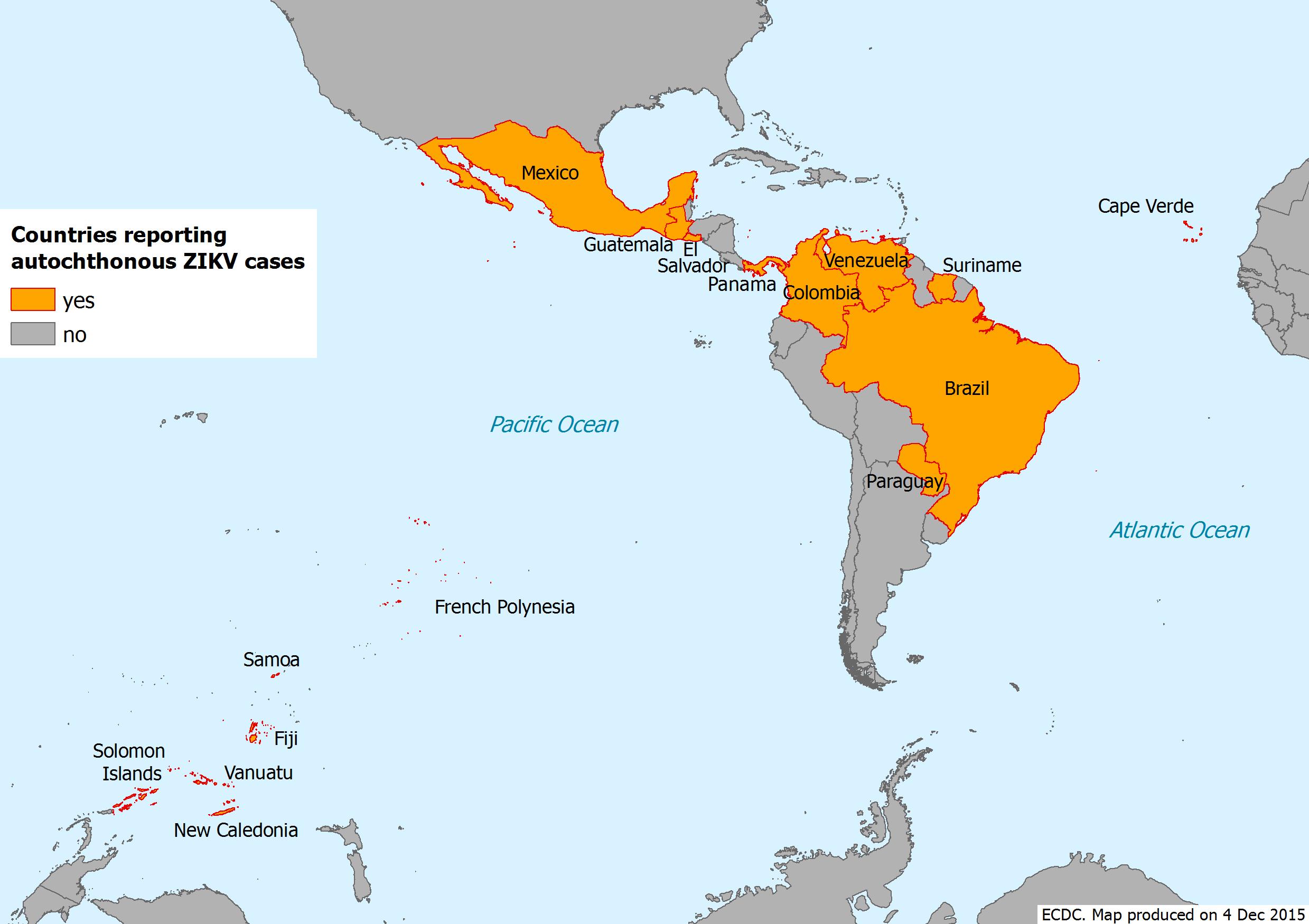 Biological Health Hazard  Autochthonous Virus Transmission Zika - Zika virus map usa states