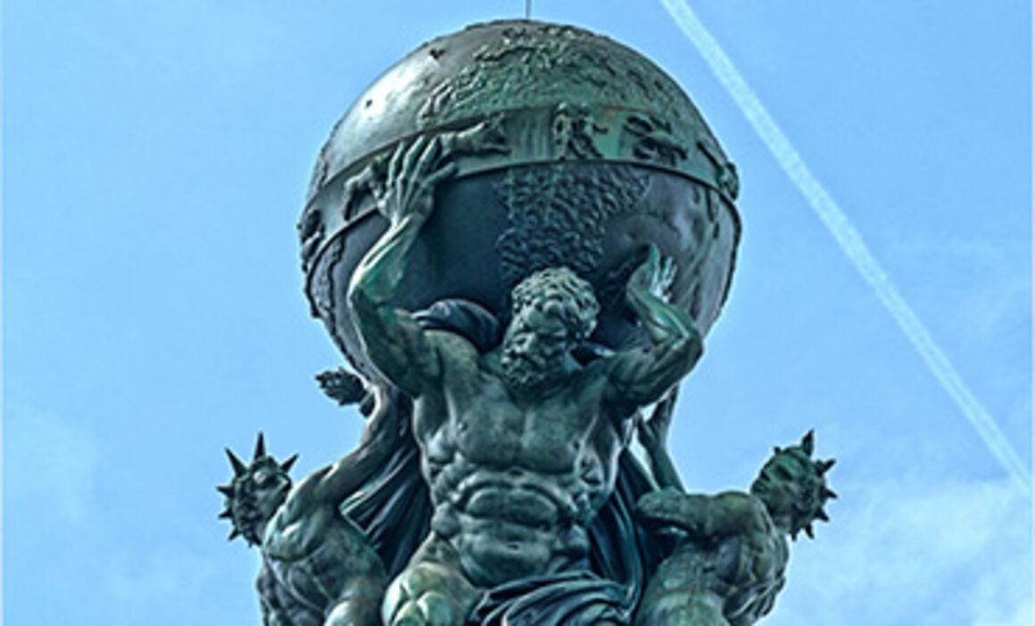 Atlas statue. © Istock