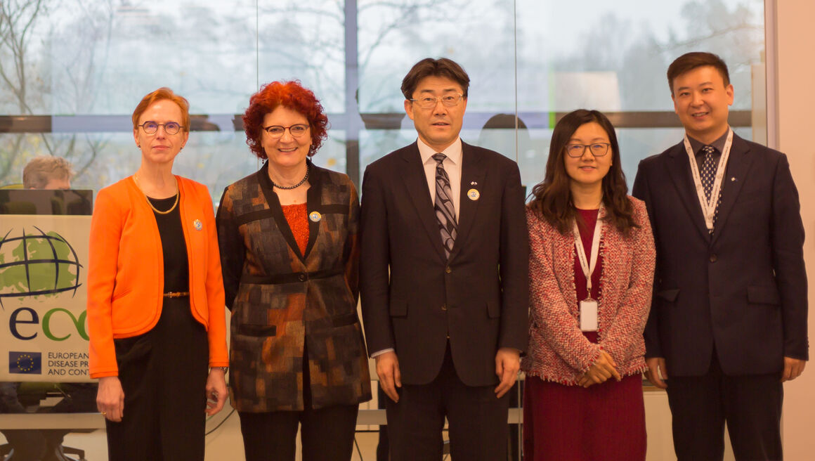 China CDC Director Dr George F. Gao visits ECDC