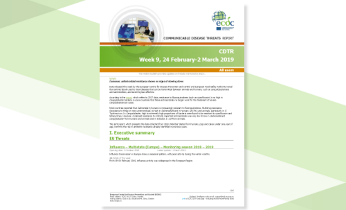 Communicable disease threats report, 24 February-2 March