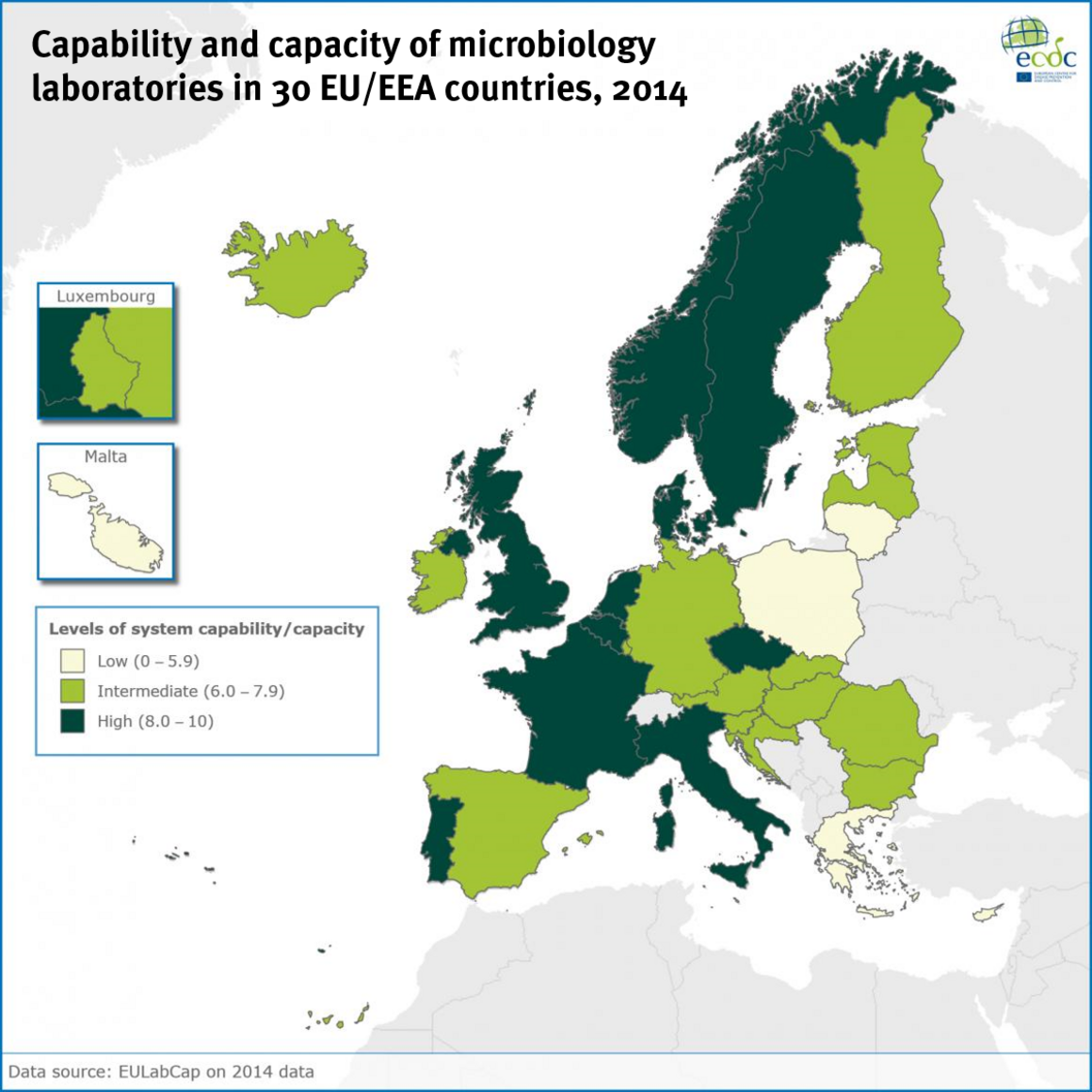 The results of the EU Laboratory Capability Monitoring System (EULabCap)  survey on 2014 data confirms that the EU EEA as a whole can rely on a  strong ... ea3c11118b3