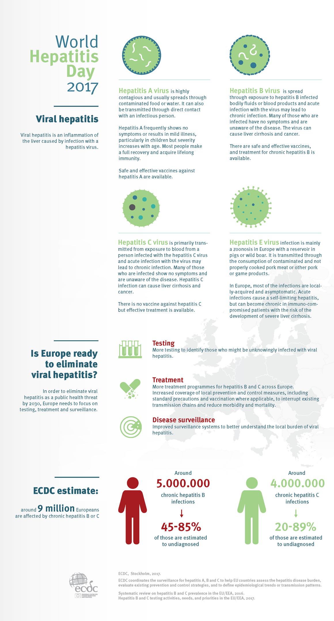 World Hepatitis Day 2017 infograph