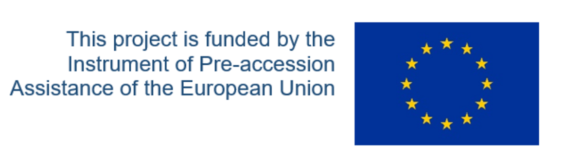 This project is funded by the Instrument of Pre-accession Assistance of the European Union