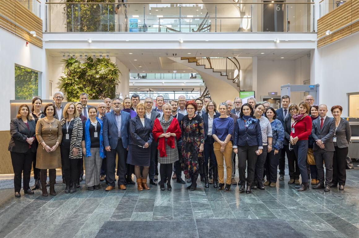 ECDC Management Board in  2019