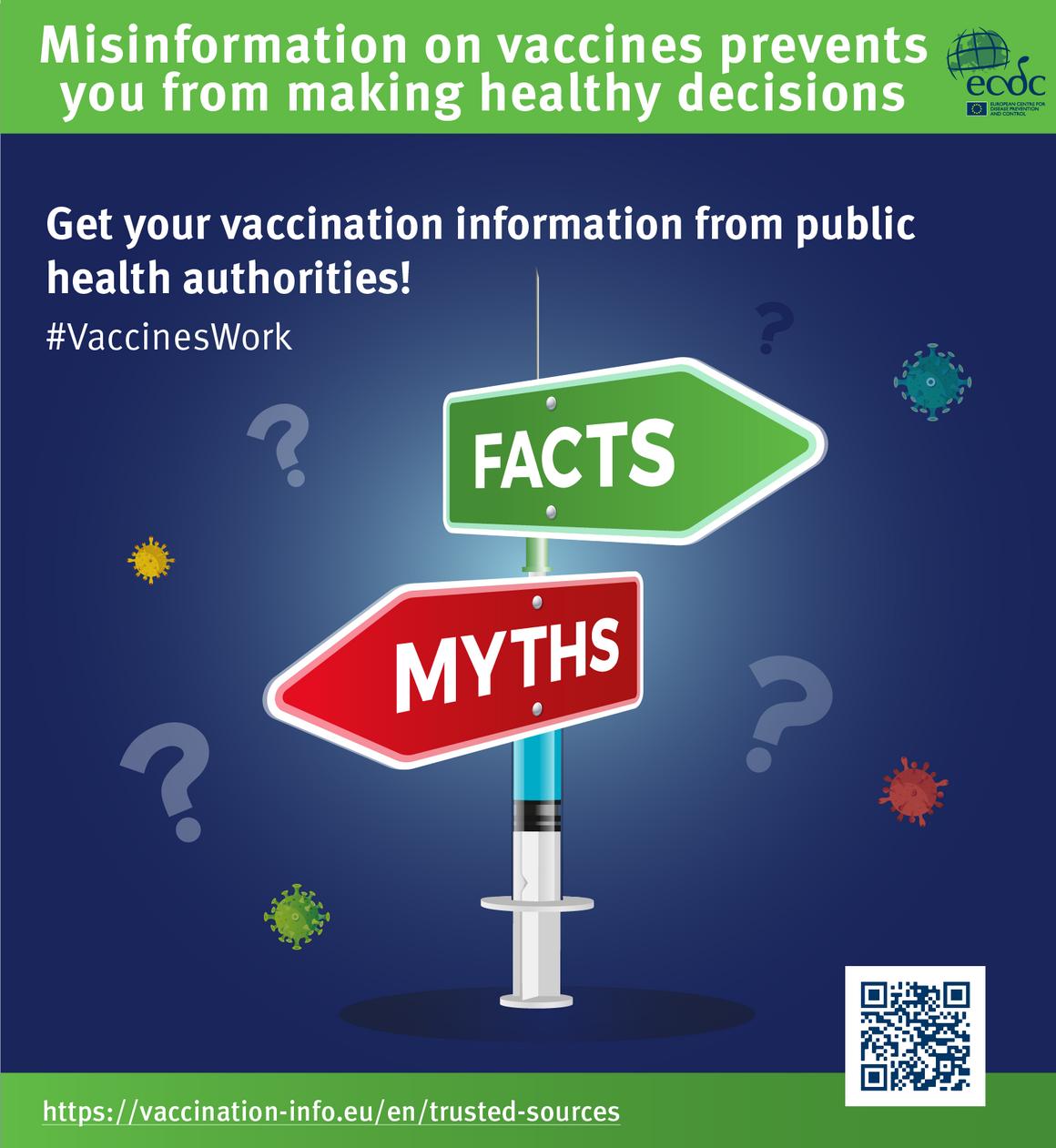 Poster 3: Countering online vaccine misinformation