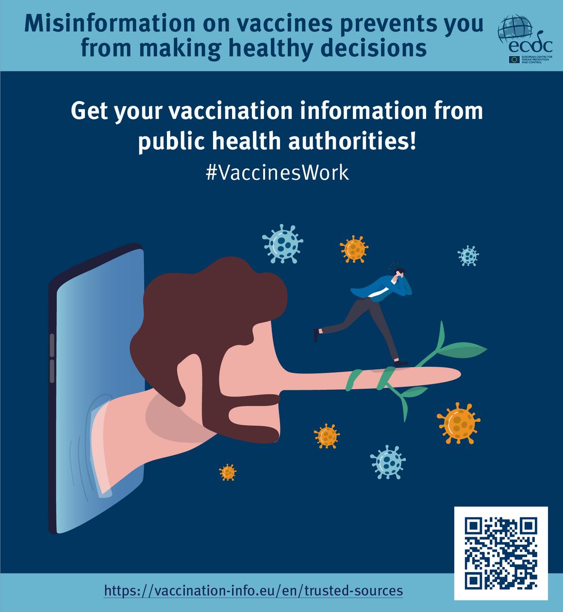 Poster 4: Countering online vaccine misinformation