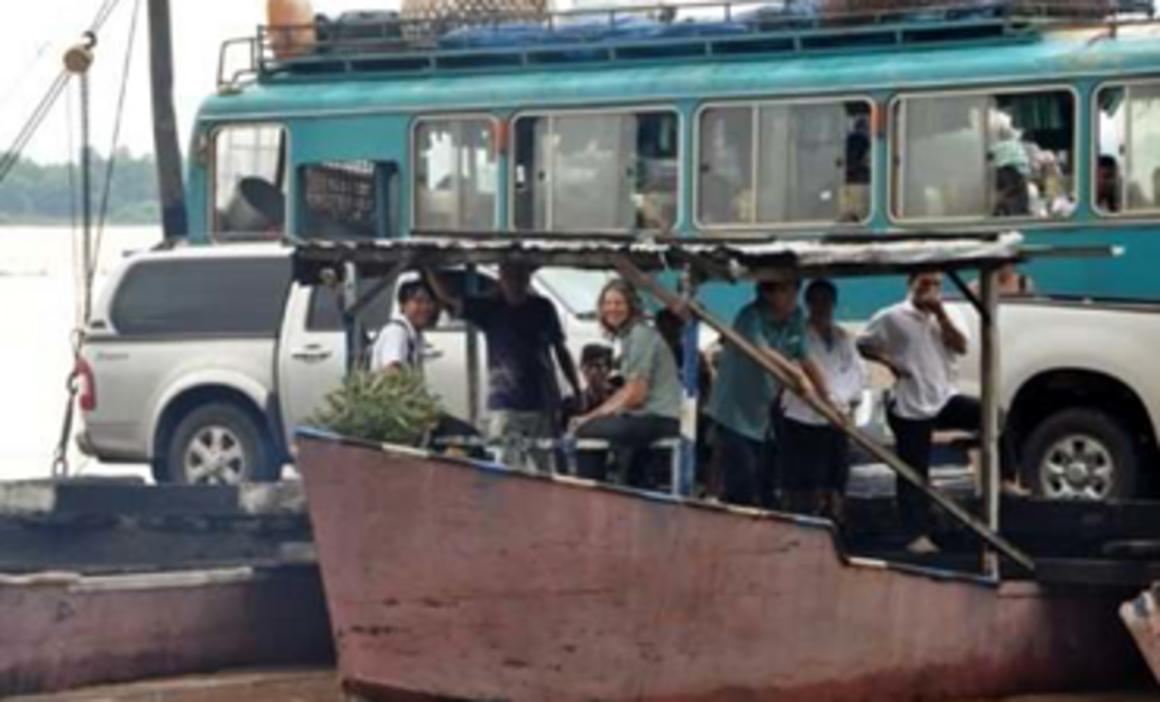 EPIET Postcard from the field - Buss, boat in Laos