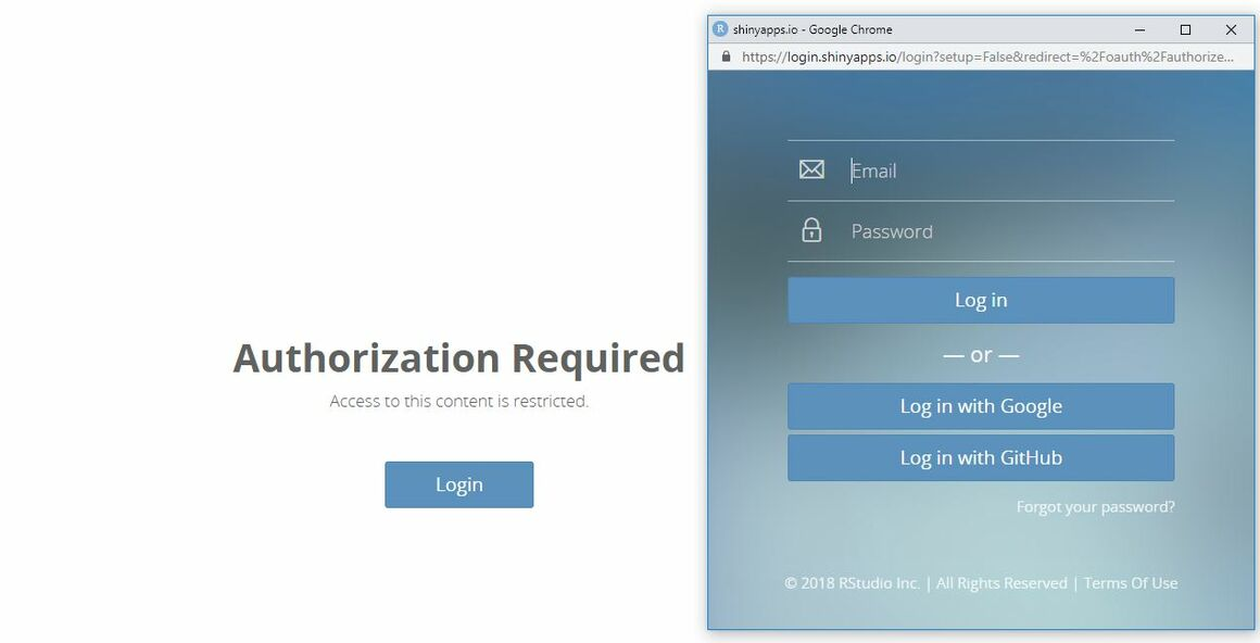 Image showing how to sign up to Shinyapps to access the HIV estimates accuracy too