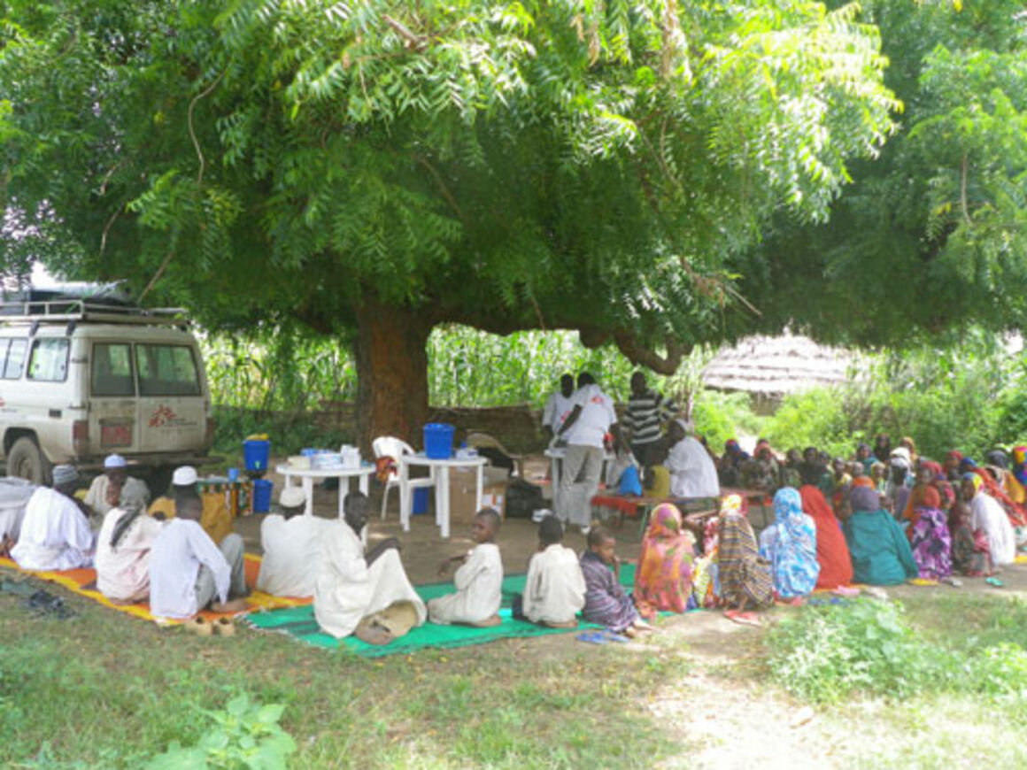 EPIET Postcard from the field, training for interviewers during emergency response mission to fight malaria in Chad